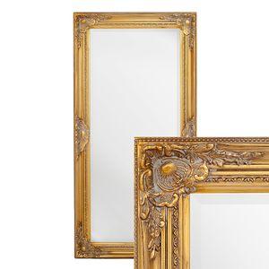Spiegel LEANDOS barock gold-antik 120x60cm