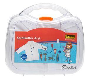 Idena Spielkoffer Arzt mit Kittel Arztkoffer Doktorkoffer