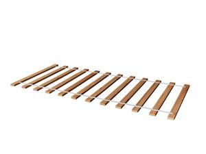 Rollrost Lattenrost Rolllattenrost 100 x 200 cm Massivholz