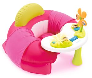 Smoby Cotoons Baby Sitz mit Activity-Tisch, rosa,110211