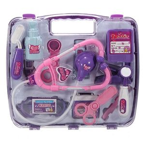 14 tlg. Kinderarztkoffer Kinder Doktorkoffer Spielzeug Arzttasche Puppen Arztkoffer Arztspielzeug Kinder Geschenk