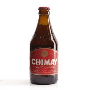 Chimay Rouge Premiere Belgian Dubbel 0,33 l Flasche - Bières de Chimay