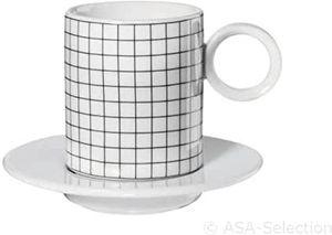 ASA Espressotasse 2er set NEW MEMPHIS d. 5,5 cm h 6,3 cm 0,1 l 16011038