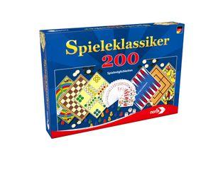 Noris Spiele Noris 606111687 Spielesammlung mit 200 Spielmöglichkeite