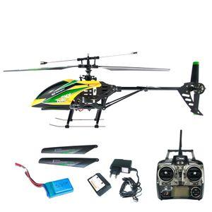 EFASO WLToys V912 4-Kanal 2,4 GHz Single Blade Gyro Helikopter mit Kameravorbereitung gelb/grün