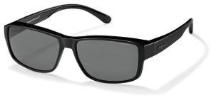 Polaroid transfer Sonnenbrille P8406KIH/Y2 Damen schwarz/grau