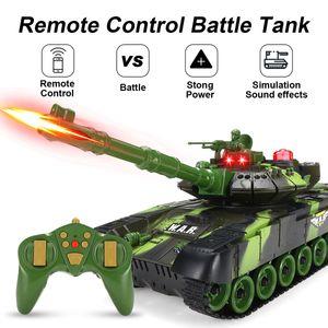 Tank Panzer Spielzeug Panzerwagen Ferngesteuertes Spielzeug Offroad Kampfpanzer-33cm