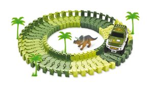 Magic Traxx Dino-Park mini 54-teilig, in Karton