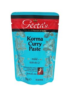 "Curry Paste ""Korma"" Mild"