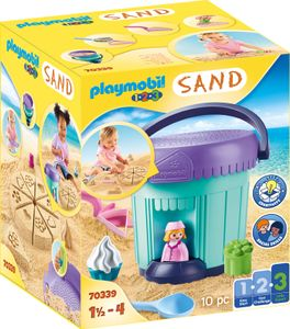 "PLAYMOBIL, Kreativset ""Sandbäckerei"", 1.2.3 / Sand, 70339"