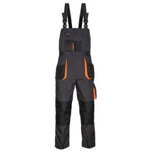 Arbeitskleidung ART.MaSter Classic schwarz/orange Latzhose 60