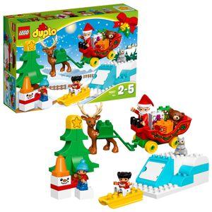 LEGO® DUPLO® Winterspaß mit dem Weihnachtsmann 10837
