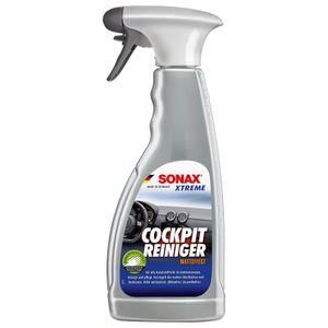 SONAX XTREME CockpitReiniger Matteffect 283241 - 500 ml Sprühflasche - Reinigung + Pflege sämtlicher Kunststoffoberflächen im Autoinnenraum