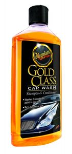 Meguiar's G7116EU Gold Class Car Wash Shampoo, 473ml