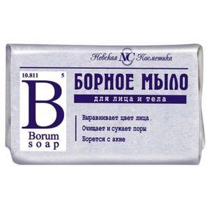 Borseife Naturseife gegen Hautprobleme Akne Seife Gesichtspflege борное мыло