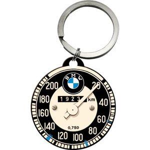 Nostalgic-Art - Edelstahl Schlüsselanhänger - BMW Tachometer