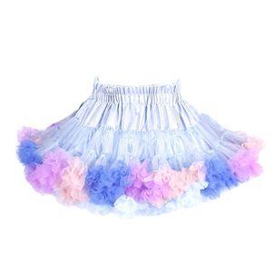 Kinder Mädchen Ballett Tutu Kleinkind Ballett Tutu Petticoat Party Dress Up Kostüm,Farbe:Blau