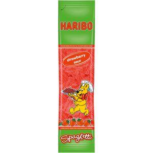 Haribo Spaghetti Erdbeere Saure Fruchtgummi Schnüre in der Tüte 200g