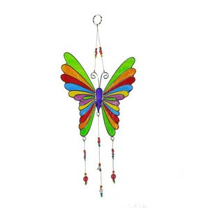 Fensterbild Schmetterling bunt (34cm), Acryl