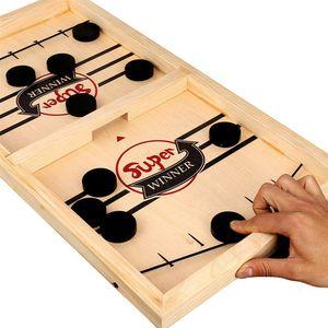 Bouncing Chess Hockey Game Schleuder Brettspiel Eltern-Kind Interaktives Spiel 2-Spieler-Desktop-Spiele Tabletop-Spiel Indoor-Party-Spiel