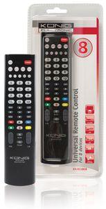 König Universalfernbedienung für 8 Geräte KN-RCU80B