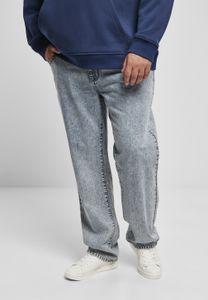 Urban Classics Herren Jeanshose Loose Fit Jeans TB3078 Light Skyblue Acid Washed 32/34