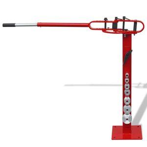 Stahlrohrbiegemaschine mit Bodenbefestigung manuelle Bedienung