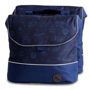 BAMBINIWELT Gepäcktasche, Gepäckträgertasche für Fahrrad, Fahrradtasche für Kinder, wasserabweisend, Modell 22