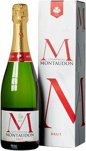 Champagne Montaudon Brut 0,75 l Geschenkpackung