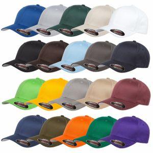 Flexfit® Baseball Cap | Schirmmütze | Basecap | Kappe | Mütze Schwarz S / M
