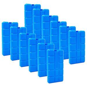 ToCi 12er Set Kühlakku mit je 200 ml | 12 blaue Kühlelemente für die Kühltasche oder Kühlbox