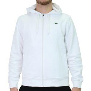 Lacoste Sport Sweatjacke Herren Sweatshirtjacken Weiß (SH1551 800) Größe: M