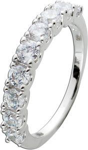 Alliance Ring Silber 925/- mit 9 funkelnden Zirkonia 20