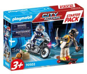 PLAYMOBIL City Action 70502 Starter Pack Polizei Ergänzungsset