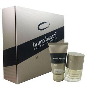 Bruno Banani Man - Men Set 30 ml Eau de Toilette EDT & 50 ml Showergel Duschgel