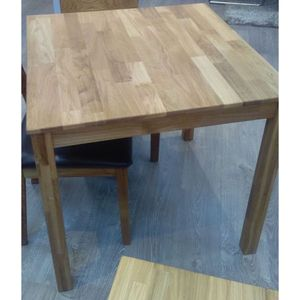 Esstisch Tisch Küchentisch 110x70cm Wildeiche massiv geölt