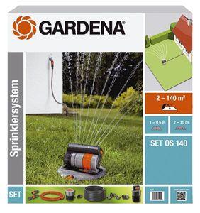 GARDENA Versenk-Viereckregner OS 140 Set 08221-20