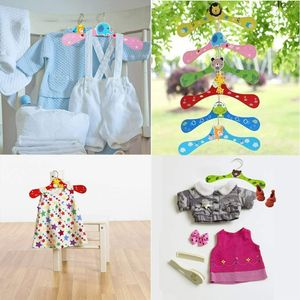 Miixia 12 Stücke Kinderkleiderbügel Kleiderbügel Kinder Baby Babykleiderbügel Holz Bügel
