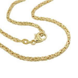 Armband 1,8mm Königskette 14Kt GOLD 19cm gold 1,8mm
