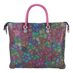 Gabs Damen Handtasche Transformable G3 M Leopard pink
