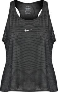 Nike W Np Cln Tank Net Black/Dk Smoke Grey/Metall L