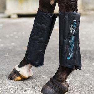 Horseware Ice Vibe Ersatz Cold Packs Kühlkissen schwarz XL Warmblut
