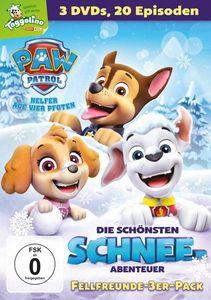 PAW Patrol BOX - Schnee Abenteuer (DVD) 3Disc