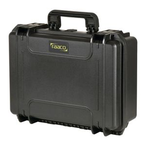 Raaco Transportkoffer Flightcase 4 schwarz 738019