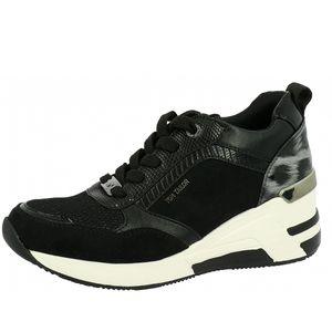 Tom Tailor Damen Sneaker in Schwarz, Größe 39