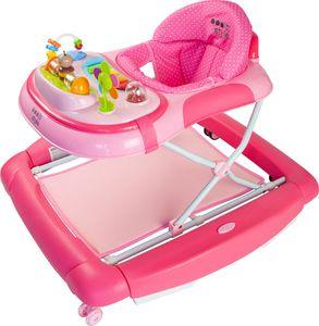 ib style® 2 in 1 BIG ROCKER Gehfrei mit Schaukelfunktion Babywippe Babywalker Lauflernhilfe | Little World Rosa