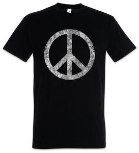 Urban Backwoods Peace Symbol T-Shirt, Größe:2XL