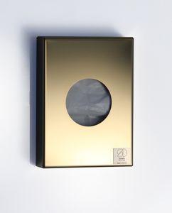 Hygienebeutelspender Edelstahl goldfarben poliert