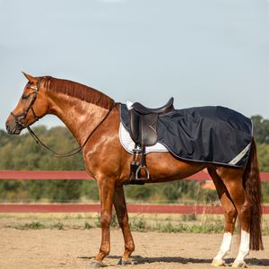 Horseware Amigo Ripstop Competition Sheet - Navy, Größe:XL