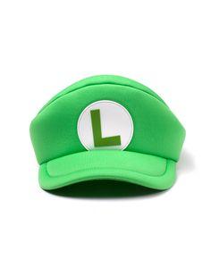 Nintendo - Super Mario Luigi Shaped Cap